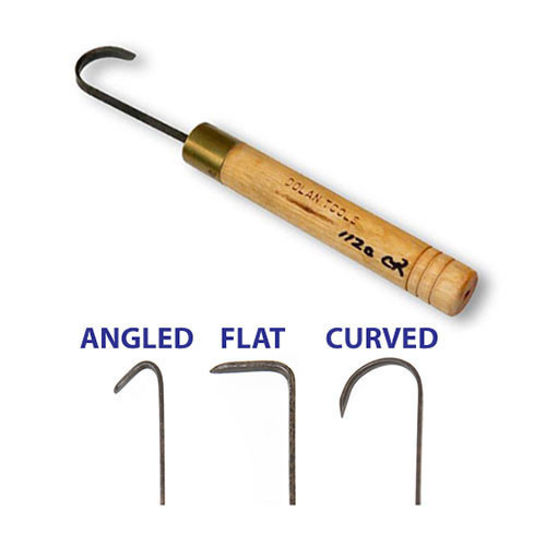 DTH1120 Curved - 1 inch DTH Turning Hook