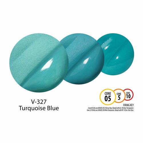 V-327 Turquoise Blue