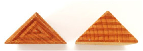 STMR-1 Right Triangle #1 - 4 cm x 3 cm Stamp