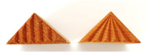 STMR-2 Right Triangle #2 - 4 cm x 3 cm Stamp
