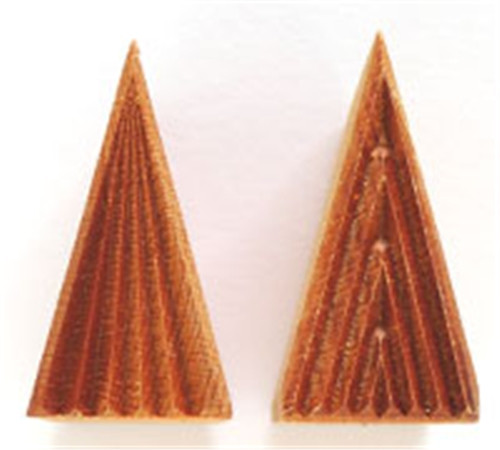STMT-1 Tall Triangle #1 - 3 cm x 6 cm Stamp