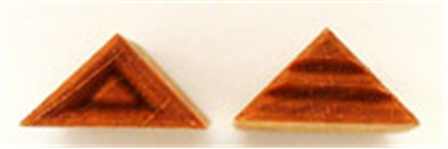 STSR-1 Right Triangle #1 - 2 cm x 1.5 cm Stamp