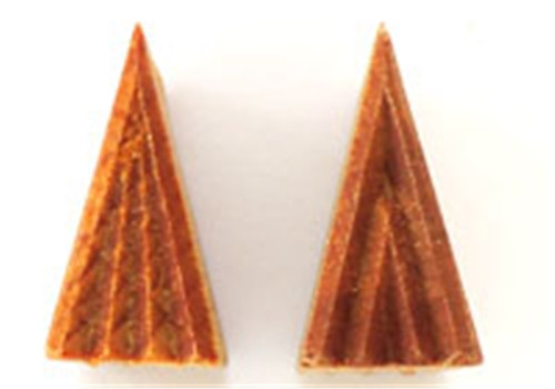 STST-1 Tall Triangle #1 - 3 cm x 1.5 cm Stamp