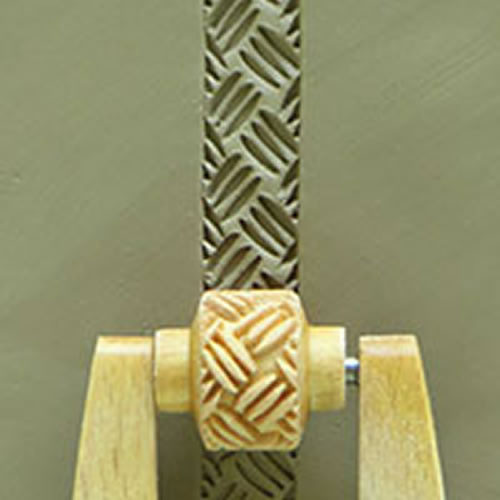 MRL-26 Basketweave #3 10mm Mini Roller