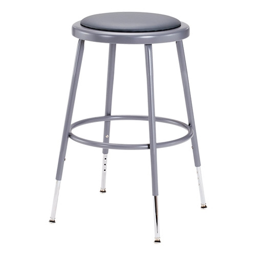 Adjustable Stool with Padded Seat
