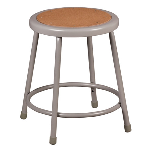 "18"" Fixed Height Stool with Hardboard Seat"