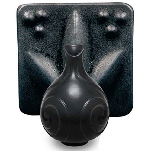 SM-01 Black Satin Matte Cone 5-6 Pint