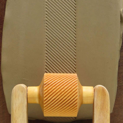 RM-012 Diagonal Lines - 3 cm Roller