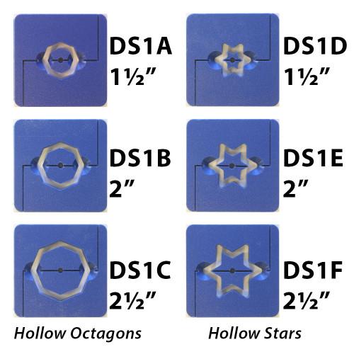 Octagons & Stars Hollow Die Set