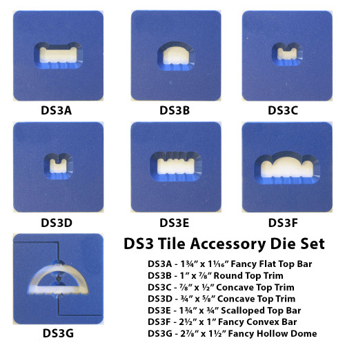 Tile Accessory Die Set