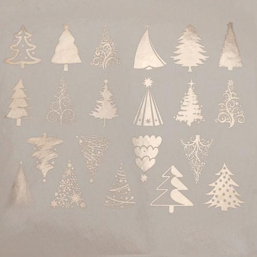 Christmas Trees - Silver/Platinum