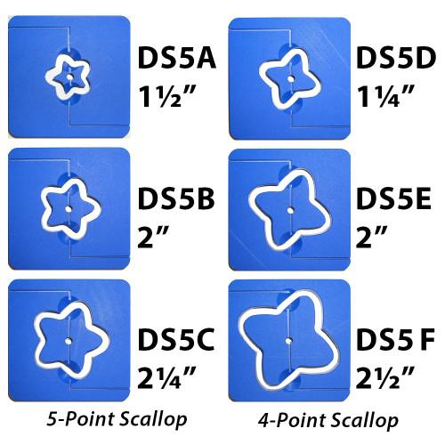 Hollow Scallops Die Set