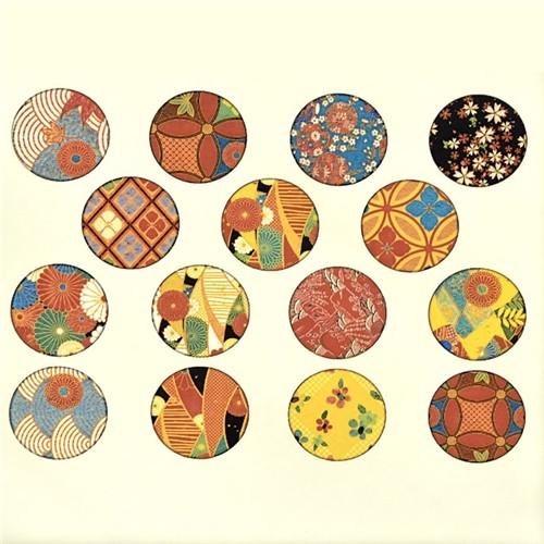 Vintage Kimono Patterns - Full Color