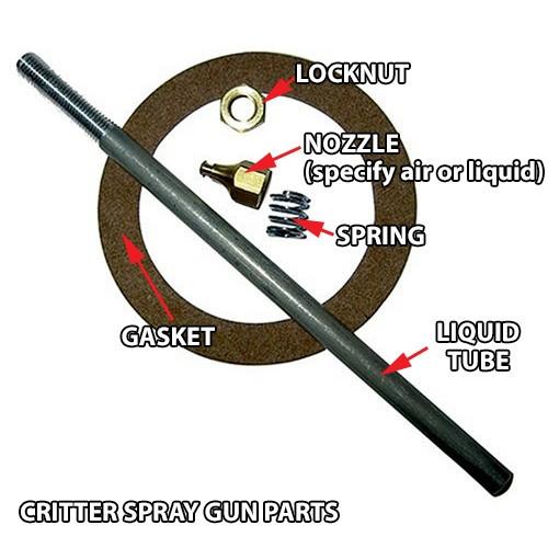 Replacement Gasket Critter Spray Gun