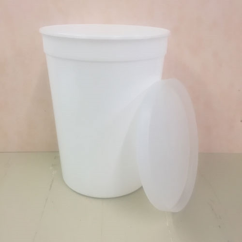 87 ounce plastic Container with Lid