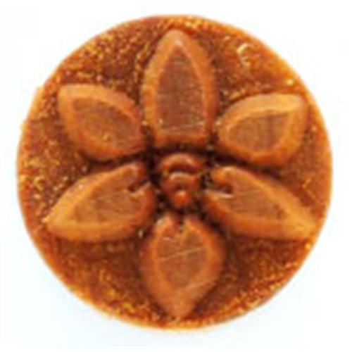 SCM-102 Flower - 2.5 cm Round Stamp
