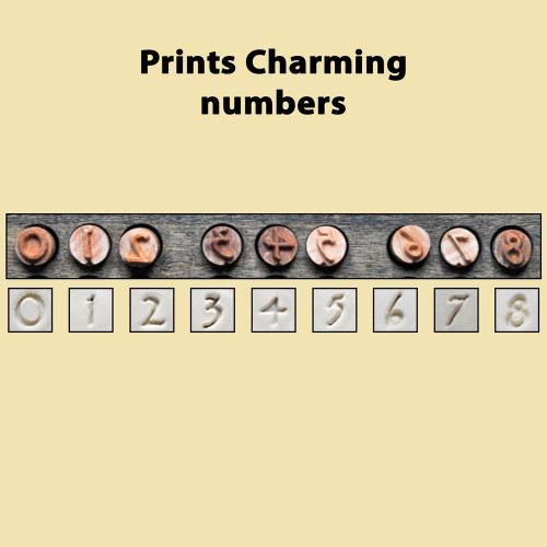 Prints Charming - numbers