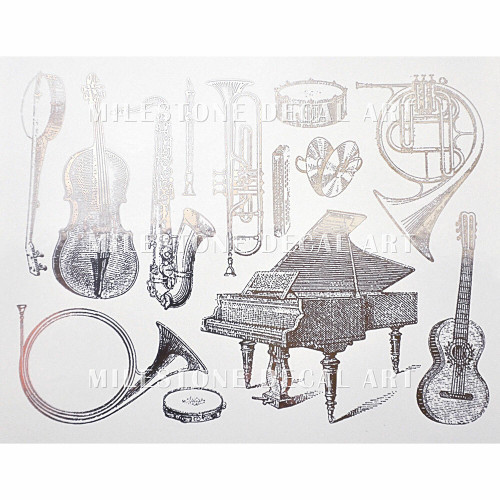 Musical Instruments - Silver