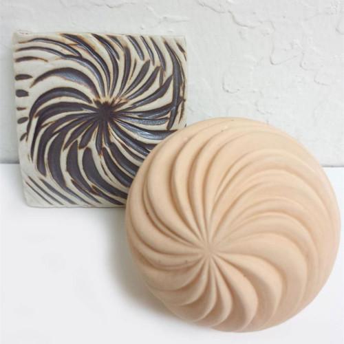 TS- 8 Swirls Texture Sphere