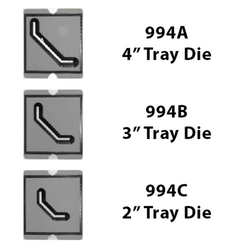 BB Tray Die Set