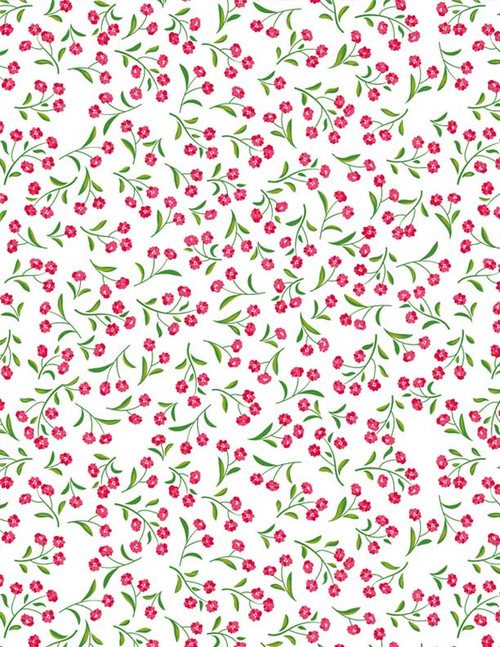 Small Flowers Full Color Underglaze Decal 19 x 13 in