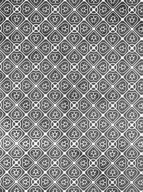 Pattern: Heart UnderglazeTransfer19 x 13 in