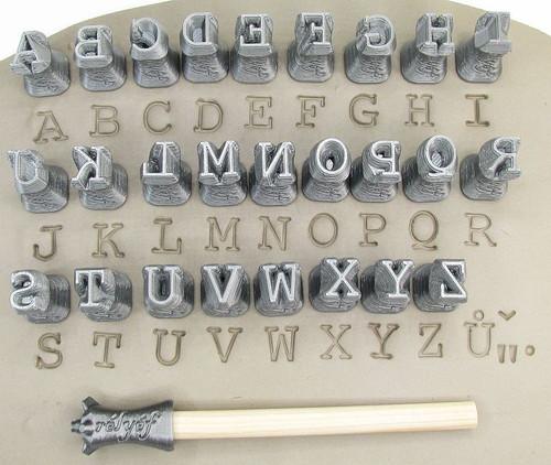 Courier alphabet 0.4