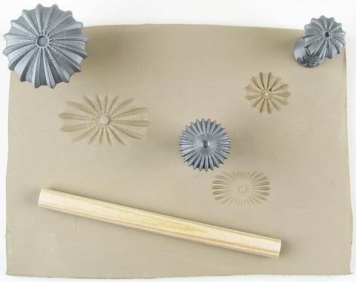 Flower-snail set