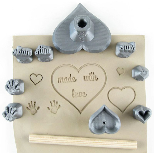 Hearts made with love set