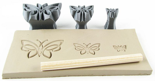 Celtic butterflies set