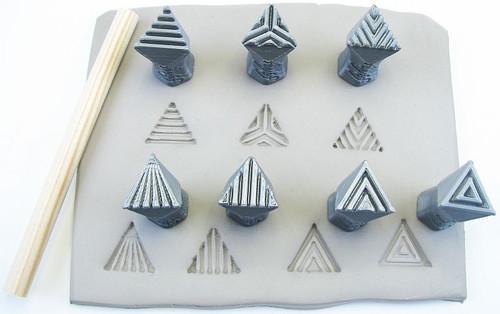 Isosceles triangles set 0.6