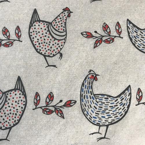 Chickens - multicolor