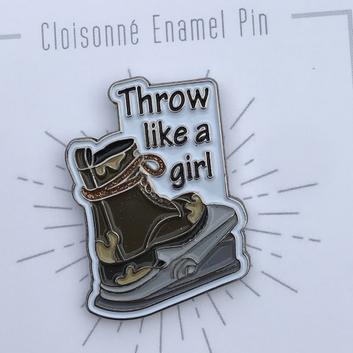 Pins - Throw Like A Girl