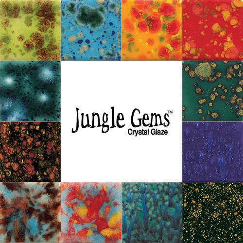Jungle Gem Crystal Glaze 4 oz Kit