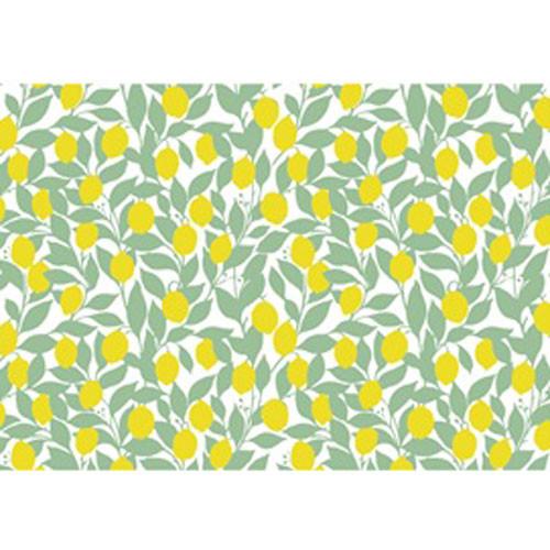 DC 3008 Yellow/Green Lemons UnderglazeTransfer18 X 14