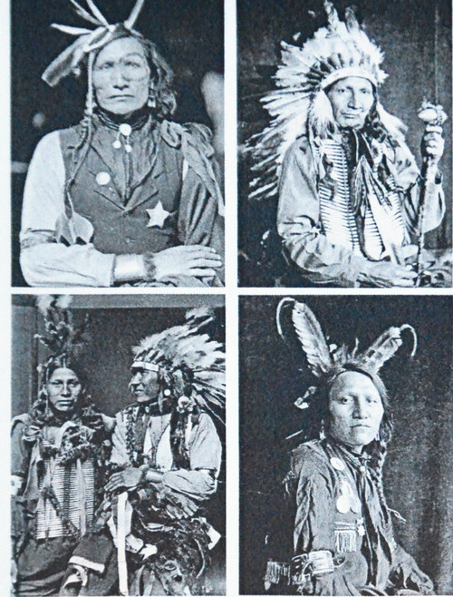 19th c. Native American Men