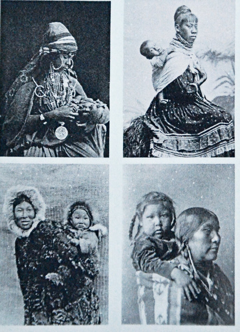 Historical Photos of Women with Babies
