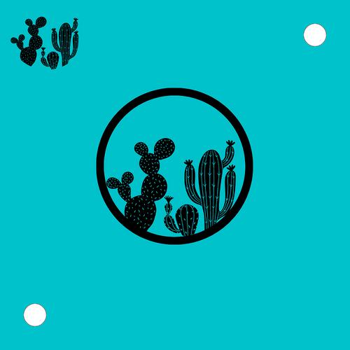 Cactus Family Flexi-bat