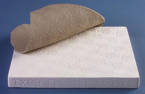 Flower Power Texture Mold TX09