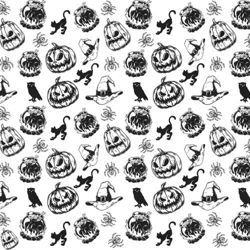 Witch & Pumpkin
