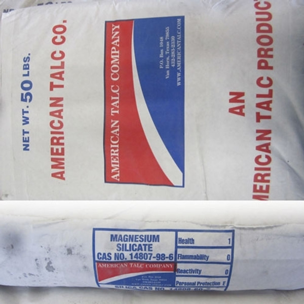 Talc (AMTAL C-92 Texas) - weighed out