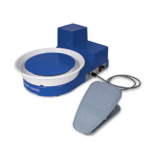 Shimpo Aspire Tabletop Wheel with Foot Pedal
