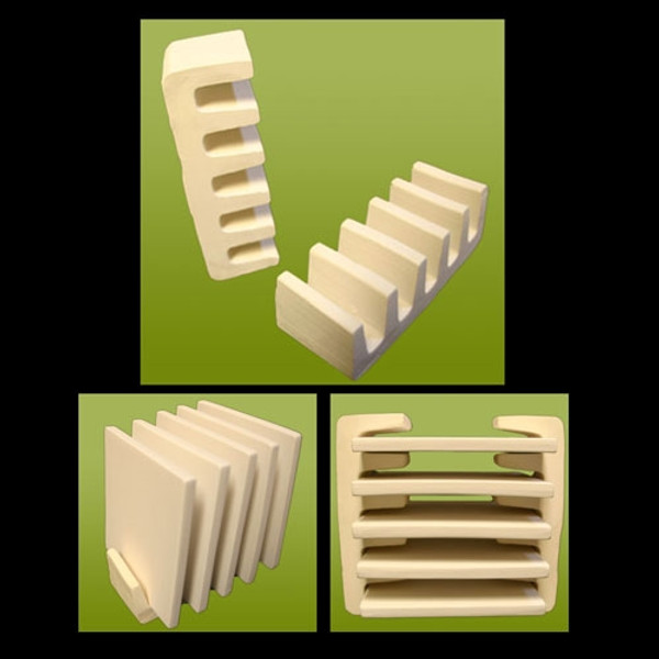 Tile Stand: holds 5 vertically or horizontally