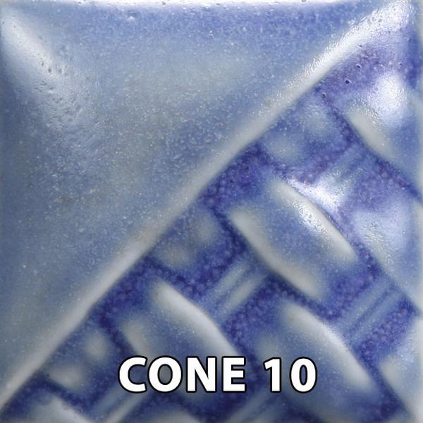 Blue Matte Pint