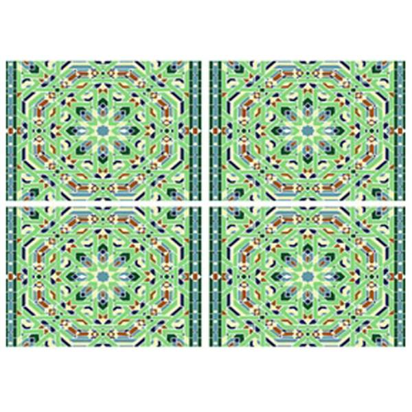 DC 3002 Multi-Color Pattern 3002 UnderglazeTransfer18 X 14