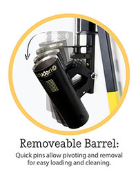 Removeable Barrel