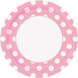 Baby Pink Dots Party Supplies