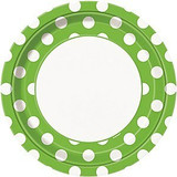 Green Dots Party Supplies