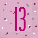 Pink 13th Birthday Decorations