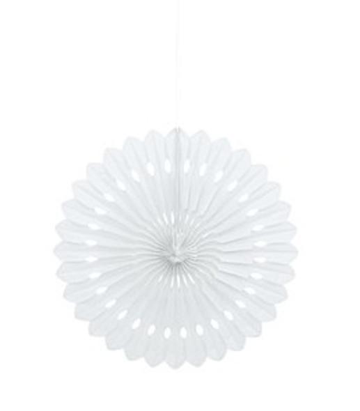 White Fan Decoration